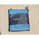 A20 Fiber Microfiber + Multi Towel, Blue Set