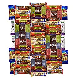 Ultimate Healthy and Delicious Bar & Snacks Variety Pack(50 Count)