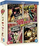 Reel Heroes: Hellboy 2/Wanted/Scott Pilgrim/Kick Ass [Blu-ray] [Region Free]
