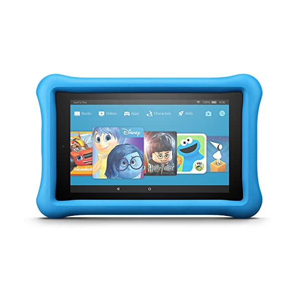 Fire 7 Kids Edition Tablet, 7 Display, 16 GB, Blue Kid-Proof Case (Color: Blue, Tamaño: 1 EA)