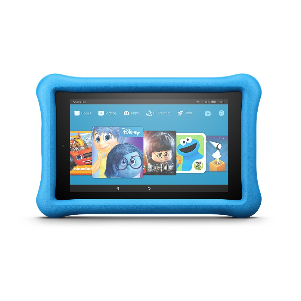 Blue Kids Edition Fire 7 Tablet
