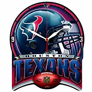 NFL Houston Texans High Definition Clock by WinCraft