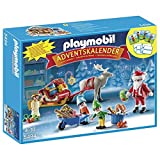 PLAYMOBIL Christmas - Calendario del Adviento - Taller de juguetes con Papá Noel y duendes - 5494