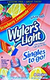 Wyler's Light Singles to Go Drink Mix, Strawberry Lemonade, 8 count (Pack of 4)