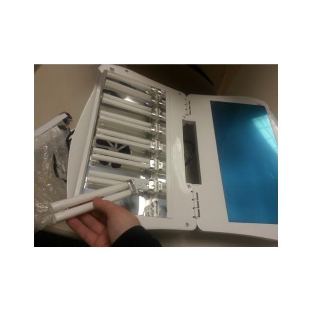 54 Watt Royal Nails Professional UV Light Gel and Acrylic Nail Dryer ...