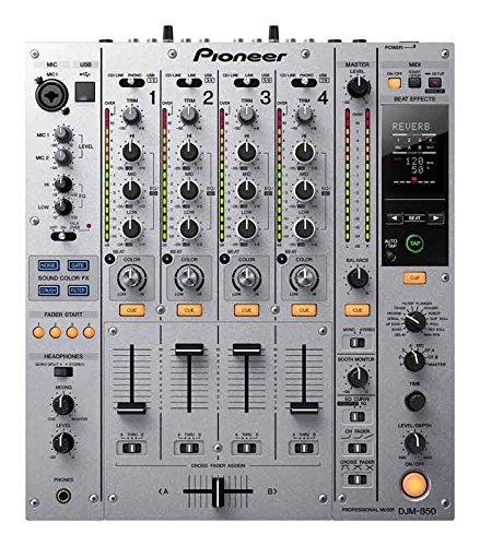 PIONEER DJM850 SILBER Mix 4 und mehr Kanal