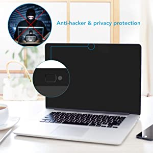ZOEGAA MacBook Pro 13 Inch Magnetic Privacy Screen Protector Kit (2016-2019) Keyboard Cover Ultra-Thin TPU Skin MacBook Pro 13 Anti Spy Security Filter (A1706,A1708,A1989 Model) [Easy On] (Color: black, Tamaño: macbook pro 13 inch)