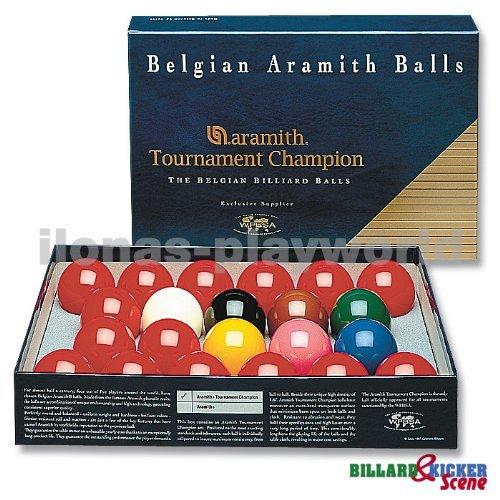 "Snooker-Ball-Satz 52,4 mm Aramith ""Tournament Champion"""