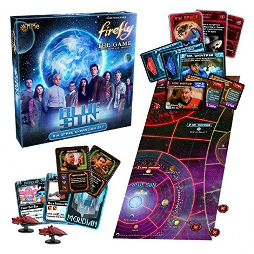 Gale Force 9 GF9FIRE5 – Firefly – Blue Sun Expansion, Brettspiel