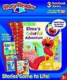 Story Reader 2.0 3-Book Sesame Street Library: Elmo, Cookie Monster, Grover