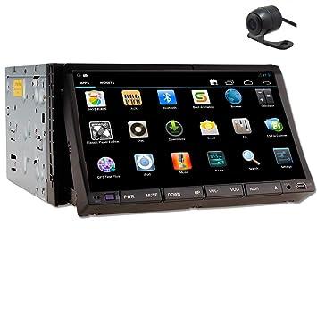 Auto MP3 BT BT Autoradio 2DIN de Monitorear 7 pulgadas Android Wifi Bluetooth coches Lecteur DVD de la pantalla tš¢ctil del coche / AM GPS DVD AM FM Radio FM EstšŠreo Bluetooth Mp3 del coche de Accesorios estšŠreo S
