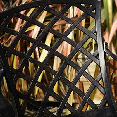 2 x Emma Metal Garden Chair (Self Assembly)