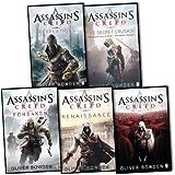Oliver Bowden Assassins Creed 5 Books Collection Pack Set.(Forsaken, Brotherhood, Renaissance, Secret Crusade & Revlations)