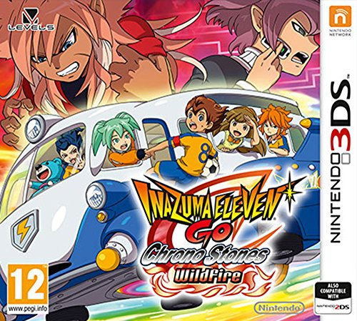 Inazuma Eleven Go Chrono Stones: Wildfire  (Nintendo 3DS)