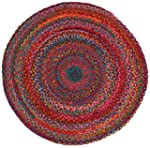 Extra Weave USA Carnivale Braided Rug...