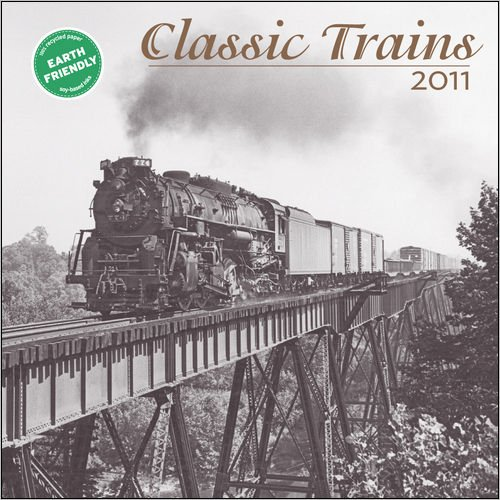 Classic Trains 2011 Mini Wall Calendar