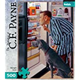 Games CF Payne Midnight Snack 500 Pieces Jigsaw Puzzle