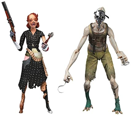 Neca - BioShock pack 2 figurines Splicer Ladysmith & Crawler 18 cm