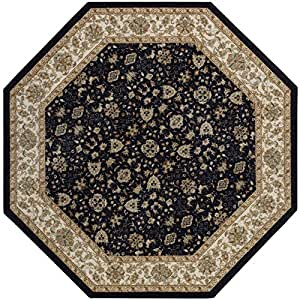 Amazon.com - Ankara Washable Octagonal Rug -