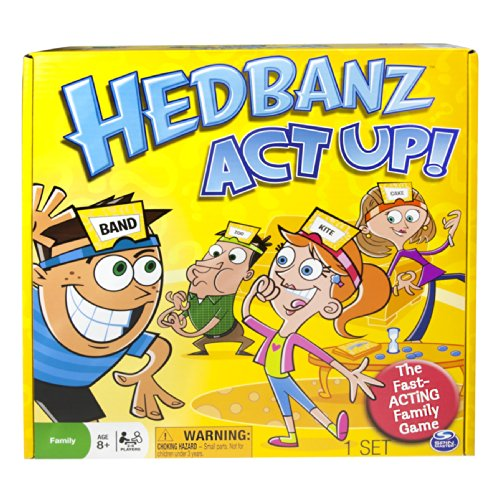 Spin Master Games - Hedbanz Act Up MX - 1