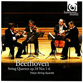 Beethoven: String Quartet Op. 18, No. 1, in F Major: I. Allegro con brio