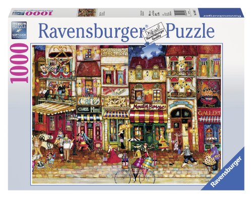 Ravensburger Streets of France Jigsaw Puzzle (1000-Piece)
