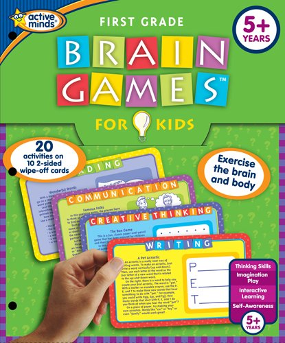 Brain Games For Kids, First Grade Edition: Exercise The Brain And Body front-786576