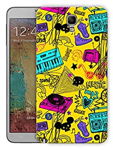 """Humor Gang Music Love Dj World Art Printed Designer Mobile Back Cover For """"Samsung Galaxy Note 3 Neo"""" (3D, Matte, Premium Quality Snap On Case)"""