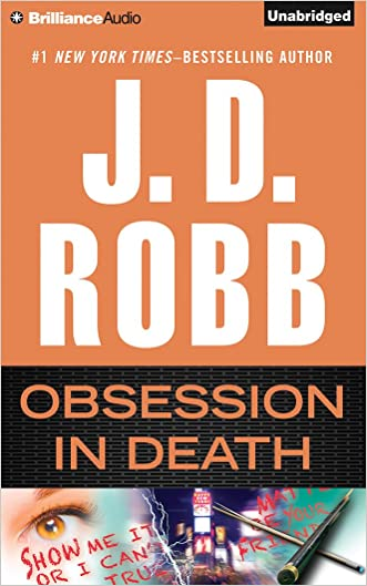 Obsession in Death (In Death Series) written by J. D. Robb