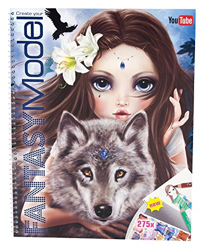 TOPModel 8059 - Fantasy Model Malbuch Mit Stickern