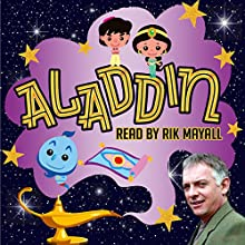 Aladdin Audiobook by Mike Bennett Narrated by Rik Mayall