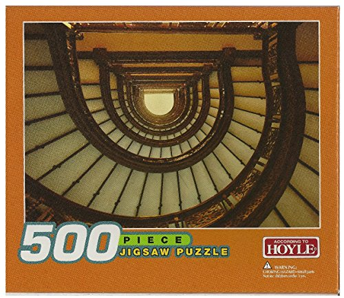 Spiral Staircase in Building; 500 Piece Puzzle - 1