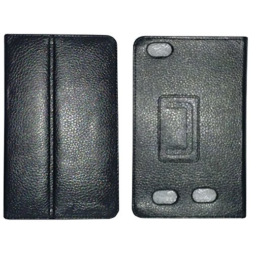 """Black PU Leather Smart Flip Cover Case for MICROMAX CANVAS P470 7"""" Tablet"""