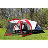 Tahoe Gear Zion 9 Person Family Tent with Screen Porch
