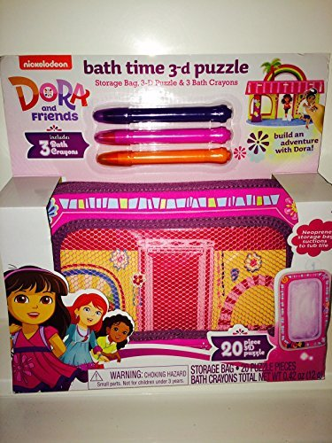 Dora & Friends Bath Time 3d Puzzle - 1