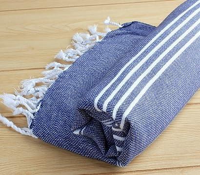 Strandtuch Badetuch Pestemal Hamam Hammamtuch Towel Saunatuch Baumwolle 90 x 180