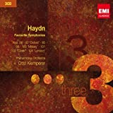 """Haydn: Favourite Symphonies (Nos. 88, 92 """"Oxford"""", 95, 98, 100 """"Military"""", 101, 102 """"Clock"""", 104 """"London"""")by Philharmonia Orchestra"""
