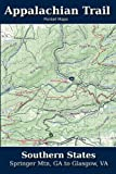 img - for Appalachian Trail Pocket Maps - Southern States (Volume 1) book / textbook / text book