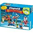 PLAYMOBIL 5494 - Adventskalender, Weihnachtsmann beim Geschenke packen