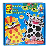 ALEX® Toys - Early Learning Paper Bag Puppets -Little Hands 1411 by Alex