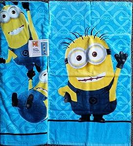 Despicable Me Minion Bath Towel Hand Towel