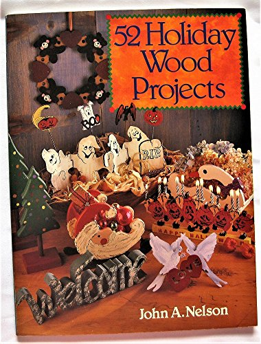Image for 52 Holiday Wood Projects