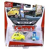 Disney World of Cars, Radiator Springs Die-Cast, Luigi & Guido #3,4/15, 1:55 Scale