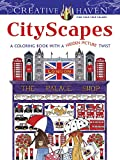 img - for Creative Haven CityScapes: A Coloring Book with a Hidden Picture Twist (Creative Haven Coloring Books) book / textbook / text book