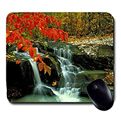 Awwsme A Beautiful Image Of A Waterfall Mousepad