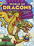 Arkady Roytman World of Dragons Coloring Book (Dover Coloring Books)