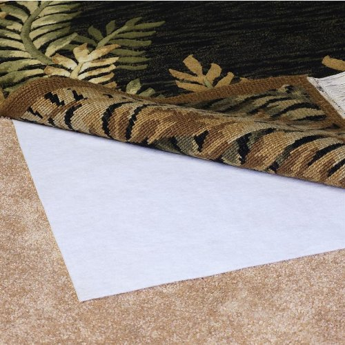 Magic stop non slip indoor rug pad size 2 39 x 8 39 rug pad for Best area rug websites