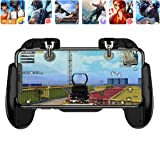 Mobile Phone PUBG Game Controller L1R1 Shoot and Aim Trigger Joystick Ergonomic Gamepad for PUBG Mobile/Knives Out,Phone Gaming Controller for 4.7''-