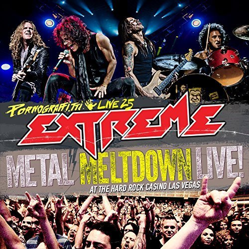Blu-ray : Extreme - Pornograffitti Live 25 / Metal Meltdown (With CD, With DVD, 3 Disc)