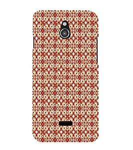 EPICCASE square flashes Mobile Back Case Cover For Infocus M2 (Designer Case)